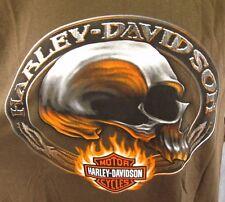 Harley Davidson Sleeveless T-Shirt M Skull Men's Motorcycle Biker FL Palm Tree