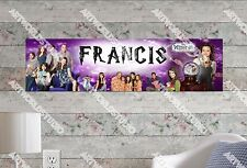 Personalized Wizards of Waverly Name Poster Wall Art Decoration Banner