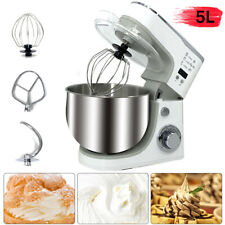 1000W Electric Food Stand Mixer 6 Speed Egg Flour Kneader for Kitchen Bread Cake