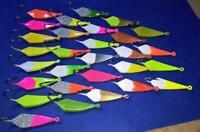 POMPANO JIGS 10 pack  WACKY  1/4oz Pompano Goofy  Bluefish Mackerel ICE FISHING