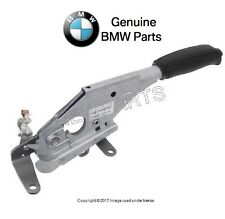 For BMW E39 525i 528i 530i Parking Brake Lever w/ Handle Black Leather Genuine