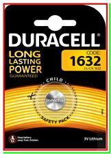 Batteria Pila DURACELL CR1632 BR1632 ECR1632 DL1632 L1632 BD1632