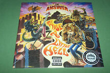 THE ANSWER - Raise A Little Hell LTD/ORANGE 2-LP Gatefold + Download  100 COPIES