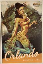 Grimm Fairy Tales #6 Chatzoudis Zenescope Megacon Postcard Exclusive #1/250 Nm