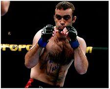 JACOB VOLKMANN Signed Autographed UFC MMA 8X10 PIC. D