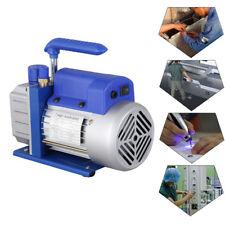 2.5CFM 1/4HP Vacuum Pump Una Etapas Bomba de Vacío Refrigeration System 220V