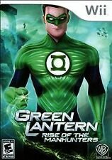 Green Lantern Rise of the Manhunters (Nintendo Wii, 2011)Brand New Fast Shipping