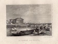 PARIS ANCIEN & HISTORIQUE / LA CHAMBRE DES DEPUTES