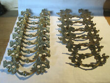 15 Vintage French Provincial drawer pulls 7 Keeler & 8 other ornate pieces