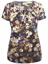 Marks and Spencer Women's Casual Floral Stretch Tops & Shirts