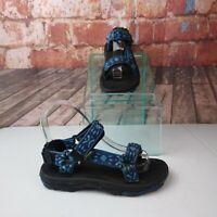 Teva Hiking Sport Sandals Blue Boys Size 3