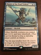 Magic the Gathering MASTER OF THE PEARL TRIDENT MTG Duel Deck Goblins vs Merfolk