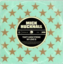 MICK HUCKNALL that's how strong my love is CD single PROMO cardboard SIMPLY RED