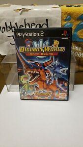 CIB DIGIMON WORLD DATA SQUAD PS2 SONY PLAYSTATION 2 VIDEO GAME
