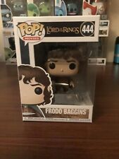 Funko Pop Figure Frodo Baggins The Lord of The Rings Action Movies Figurine 444
