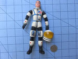 Mattel 1966 Major Matt Mason Man in Space Figure Gem White Rubber with Helmet