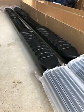 "Ionic 5"" Black Nerf Bars - '07-'18 1500-2500-3500 Silverado/Sierra CREW CAB!"