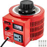 Variac Auto Transformer AC Variable Voltage Regulator Metered 2KVA 20Amp