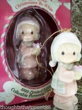 Precious Moments Ornament May All Your Xmas 521302R '99 *free 1St Class Shipping
