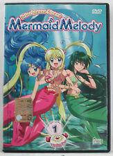 Principesse Sirene : Mermaid Melody  *  volume 1 * DVD BUONO STATO