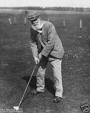 Vintage Golf  Poster/B&W /Old Tom Morris/'The Godfather of Golf'/16x20 inch