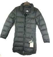 The North Face, Women's Metropolis Parka III Black Quilted Coat, Size Small