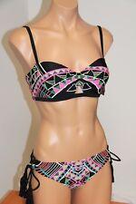 32e1c15c86f73 NWT Coco Rave Swimsuit Bikini 2pc set XL 38 C Cup Underwire Bra XL Bottom