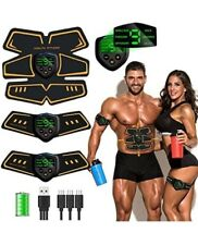 Abs Trainer Muscle Toner,Abdominal Toning Belts EMS Abs Trainer Body Fitness Tra