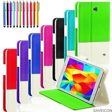 For Samsung Galaxy Tab 4 7 7.0 Inch Tablet Folio Hybrid Case Cover Stand SM-T230