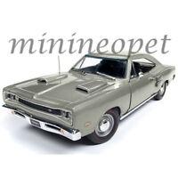 AUTOWORLD AMM1141 1969 DODGE CORONET R/T 1/18 DIECAST MODEL CAR SILVER