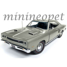 AUTOWORLD AMM1141 1969 DODGE CORONET R/T 1/18 DIECAST MODEL CAR SILVER
