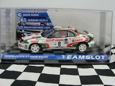 TEAM SLOT TOYOTA CELICA GT-FOUR ST185  #8 11709  1:32 SLOT  BNIB
