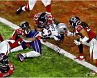 James White New England Patriots Super Bowl LI Signed 16x20 Final Touchdown Pic
