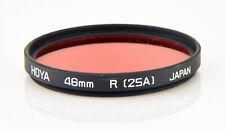 Hoya 46mm Red (R25A) Circular Filter