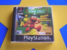 ELMO'S LETTER ADVENTURE - PLAYSTATION - PS