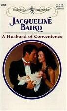 Husband Of Convenience, Jacqueline Baird, 0373120524, Book, Good