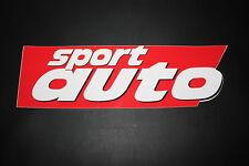 SPORT AUTO Rally Aufkleber Sticker Decal Kleber Logo Zeichen Schriftzug XXL