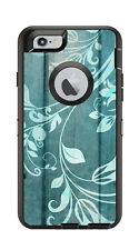 Skin Decal Wrap for Iphone 6 6S Otterbox Defender Case Vines Wood Floral Motif