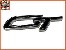 GT Classic Car High Quality Enamel Self Adhesive Badge Decal BLACK