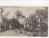 Westfield Road Hayling Island Hampshire 1921 Postcard 660b