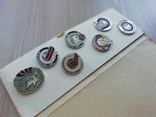 Set #15 of badges Kolskiy souvenir USSR Soviet Metal Pin Holiday of the North