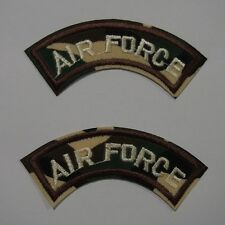 Air Force Curved Shoulder Patch