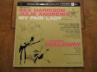 Rex Harrison, Julie Andrews – My Fair Lady - Original Cast 1959 Vinyl LP VG+/EX!