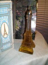Exquisite Avon Glass Eiffel Tower w/Occur - Nib!