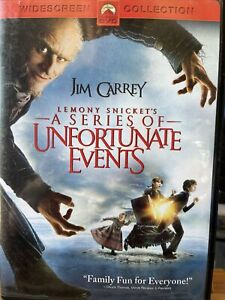 Lemony Snickets A Series of Unfortunate Events (DVD, 2005, Widescreen)