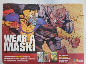 Invincibles 'Wear a Mask' Poster from Image. Unique and rare.