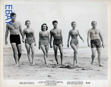 Barry Coe Sal Mineo barechested Barbara Eden VINTAGE Photo A Private's Affair