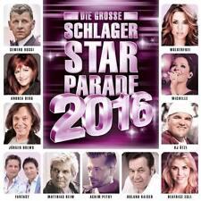 DIE GROSSE SCHLAGER STAR PARADE 2016 CD Andrea Berg Matthias Reim Michelle * NEU