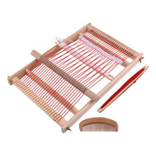 Traditional Wooden Loom Weaving Handmade Knitting Kit Weaving Machine Kids Toy