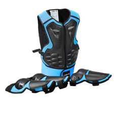 Kids Skateboard Cycling Skating Elbow Knee Pads Wrist Protective Gear Blue